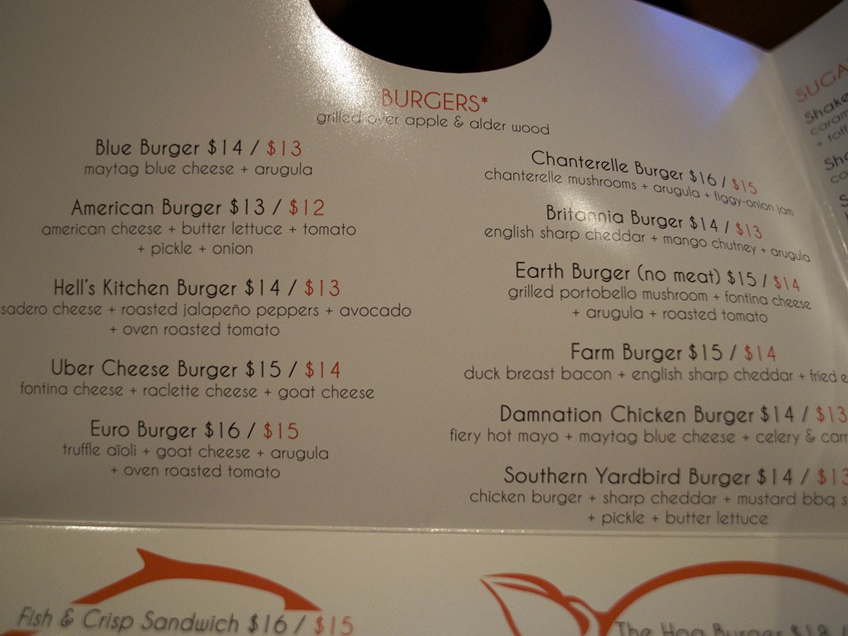 Possibly The Best Burger In Las Vegas At Burgr By Gordon