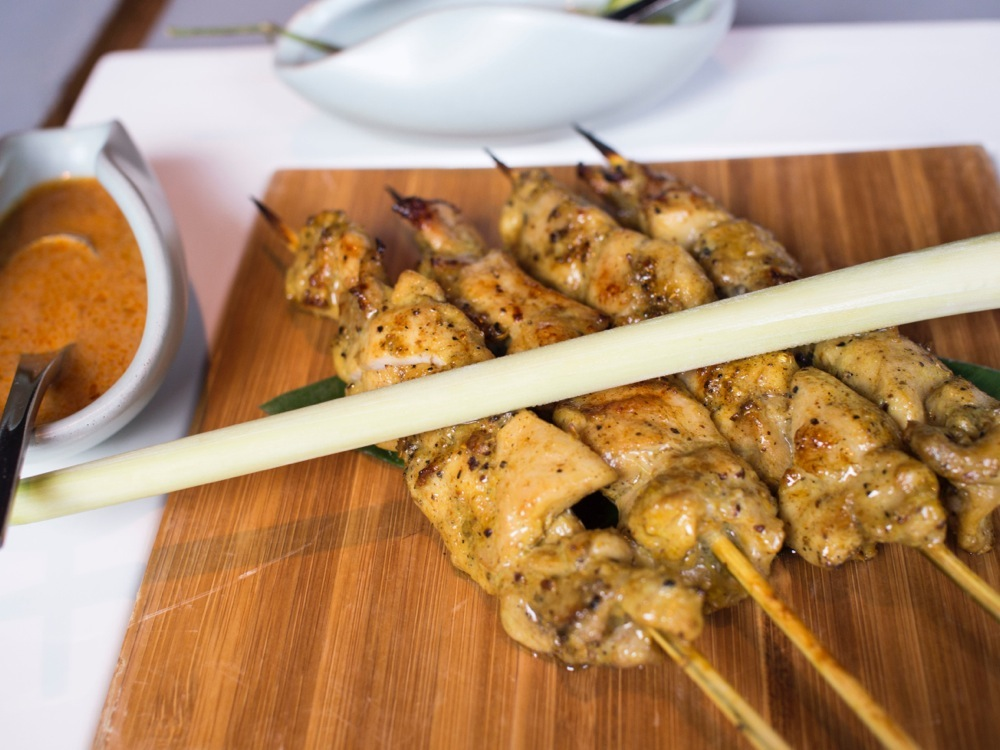 Chicken Satay @ T for Thai