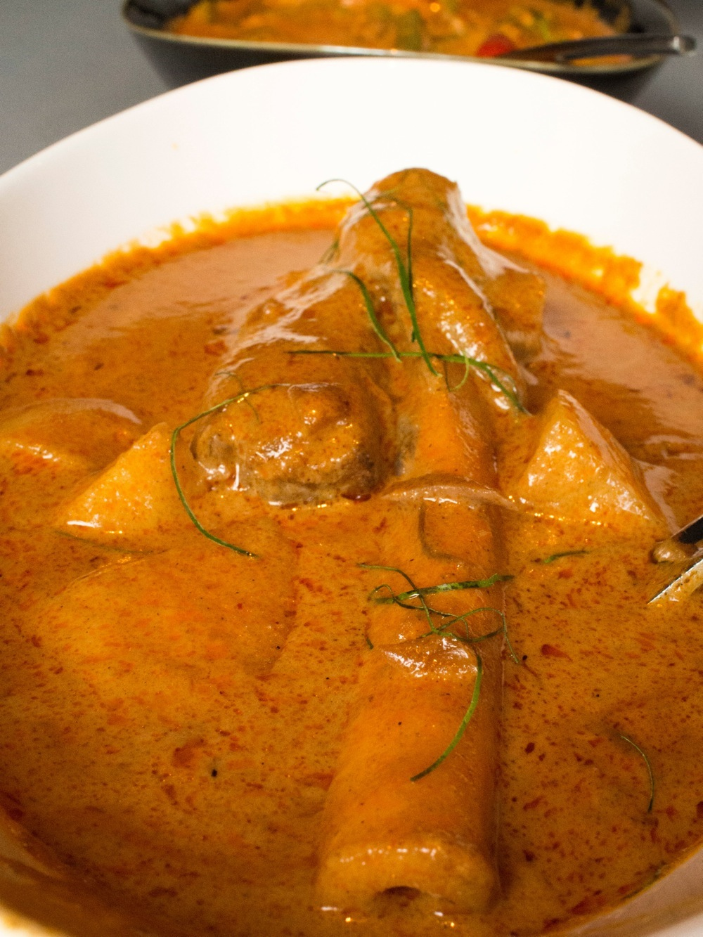 Massaman Lamb Curry @ T for Thai