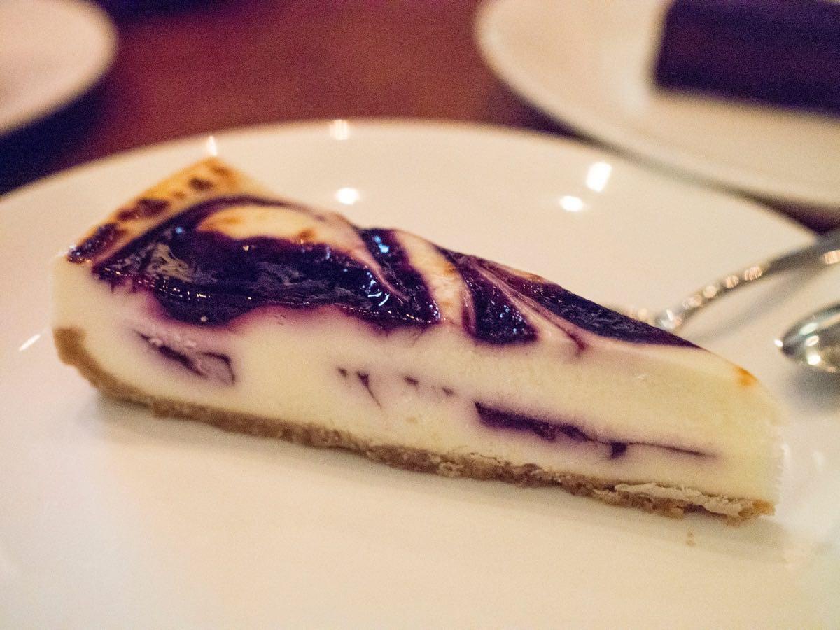 Blueberry Cheesecake @ Beef & Liberty Shanghai
