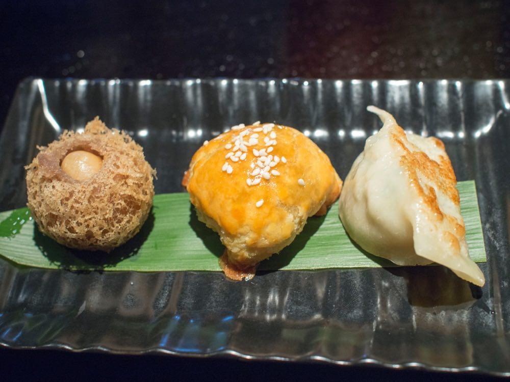 Fried Dim Sum Platter @ Hakkasan