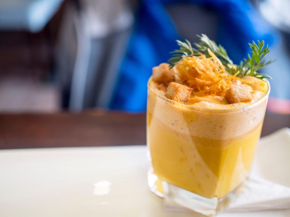 Pumpkin Soup @ La Bistronomie Shanghai