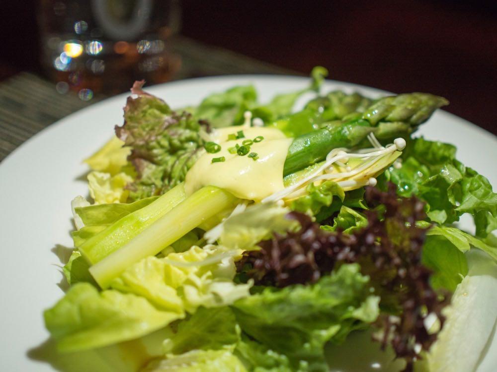 Warm Asparagus Salad @ Nougatine