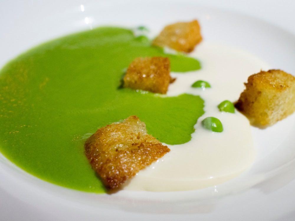 Spring Pea Soup @ Nougatine