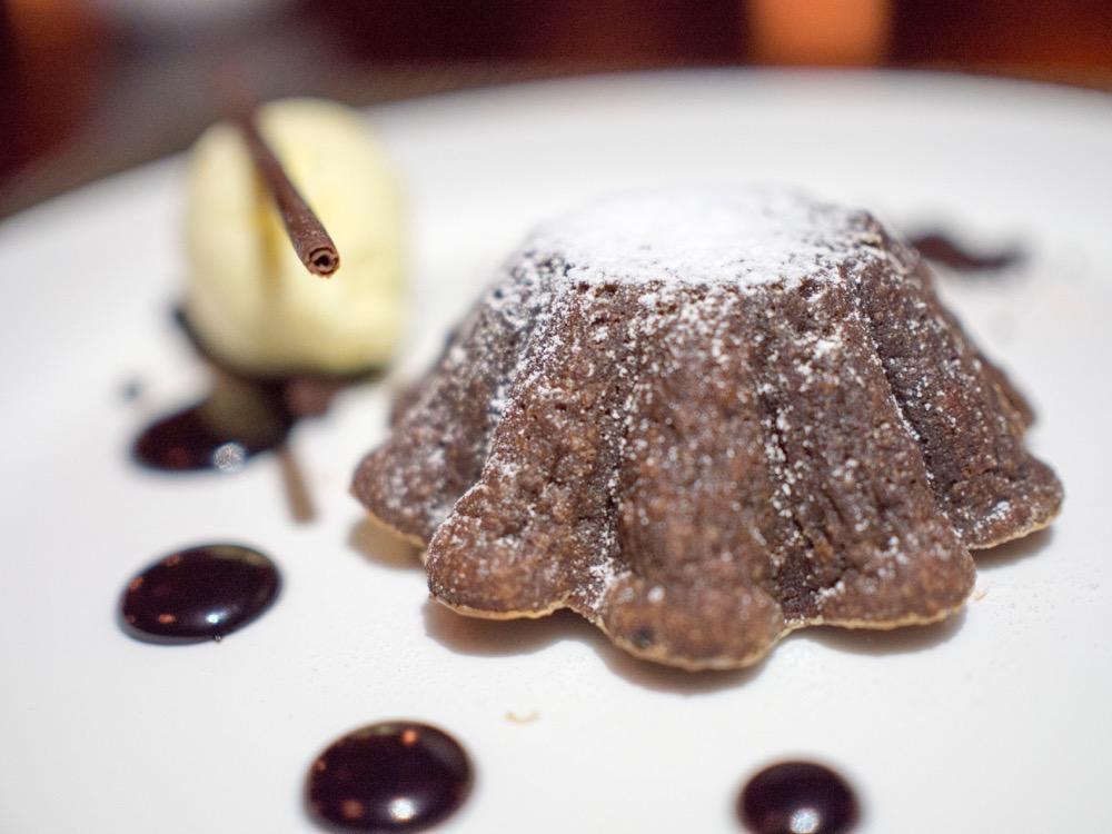 Molten Chocolate Cake @ Nougatine