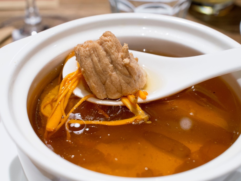 Lean Pork from the Panax Energy Soup