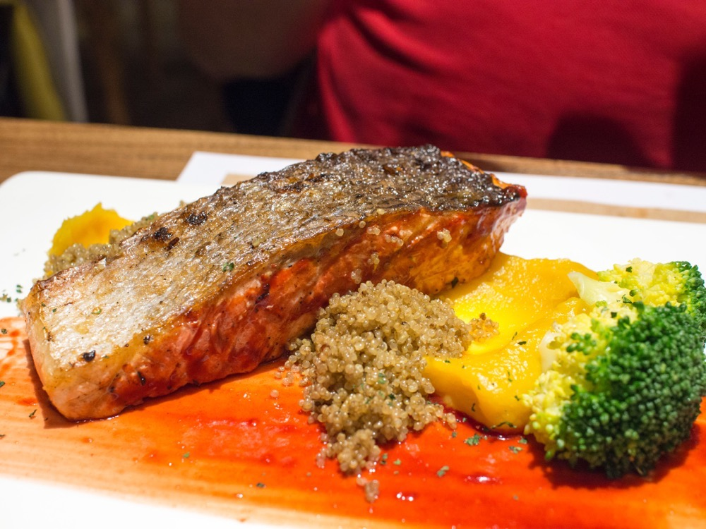 Grilled Norwegian Salmon at Remedy 365