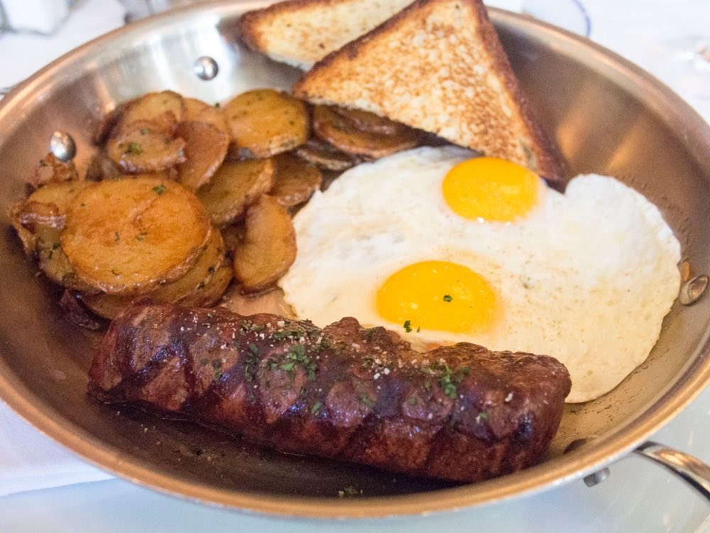 Steak and Eggs @ Bouchon by Thomas Keller @ The Venetian