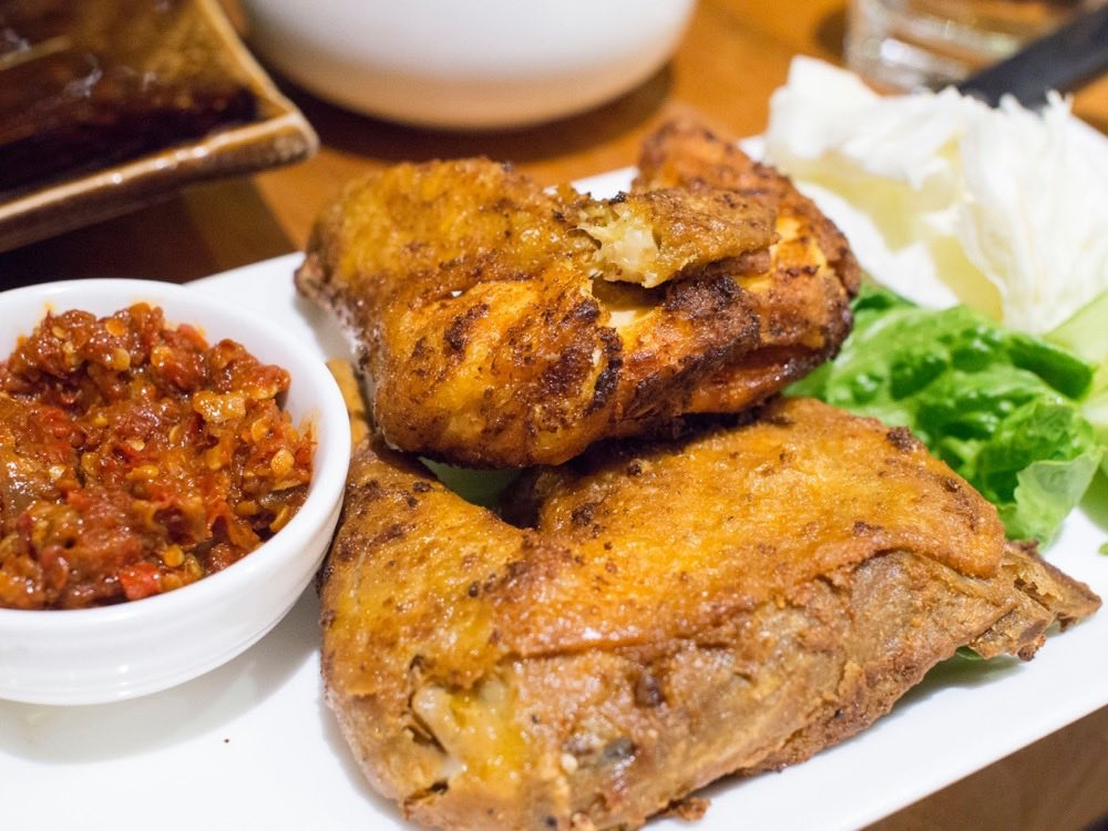 Ayam Penyet @ Bali Bistro