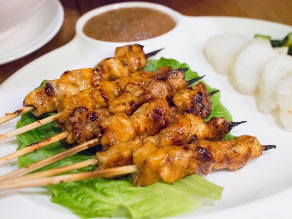 Sate Ayam @ Bali Bistro