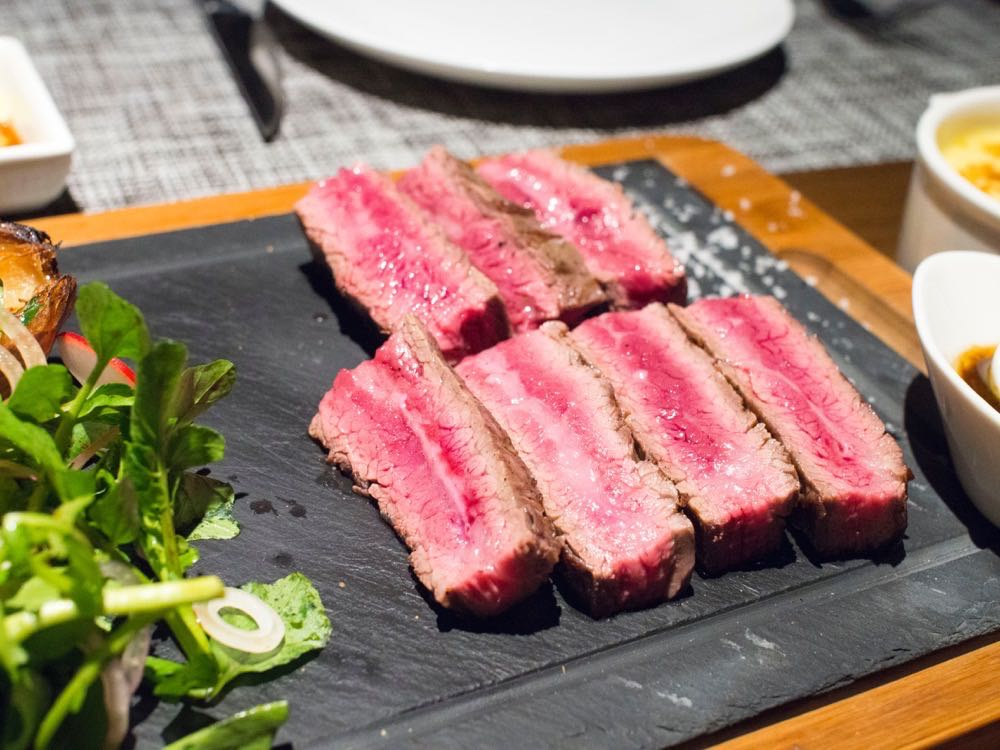 Flank Steak Wagyu M4 at Atto Primo, Shanghai