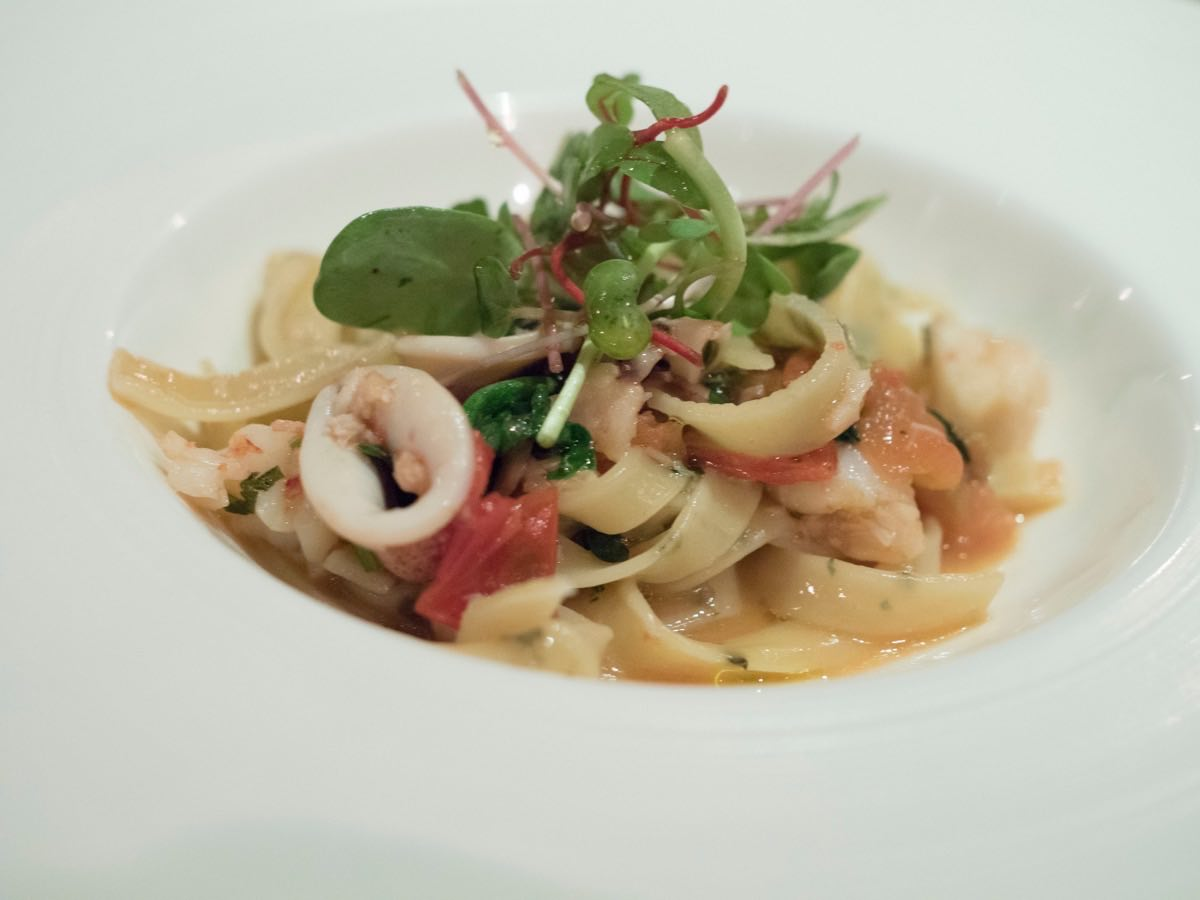 Delicate seafood sauce