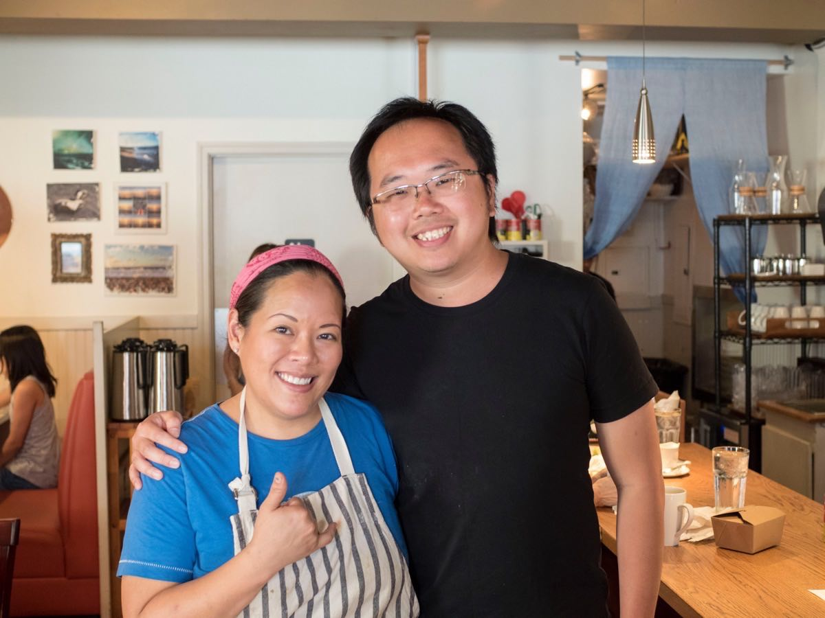 Chef Lee Anne Wong and I!
