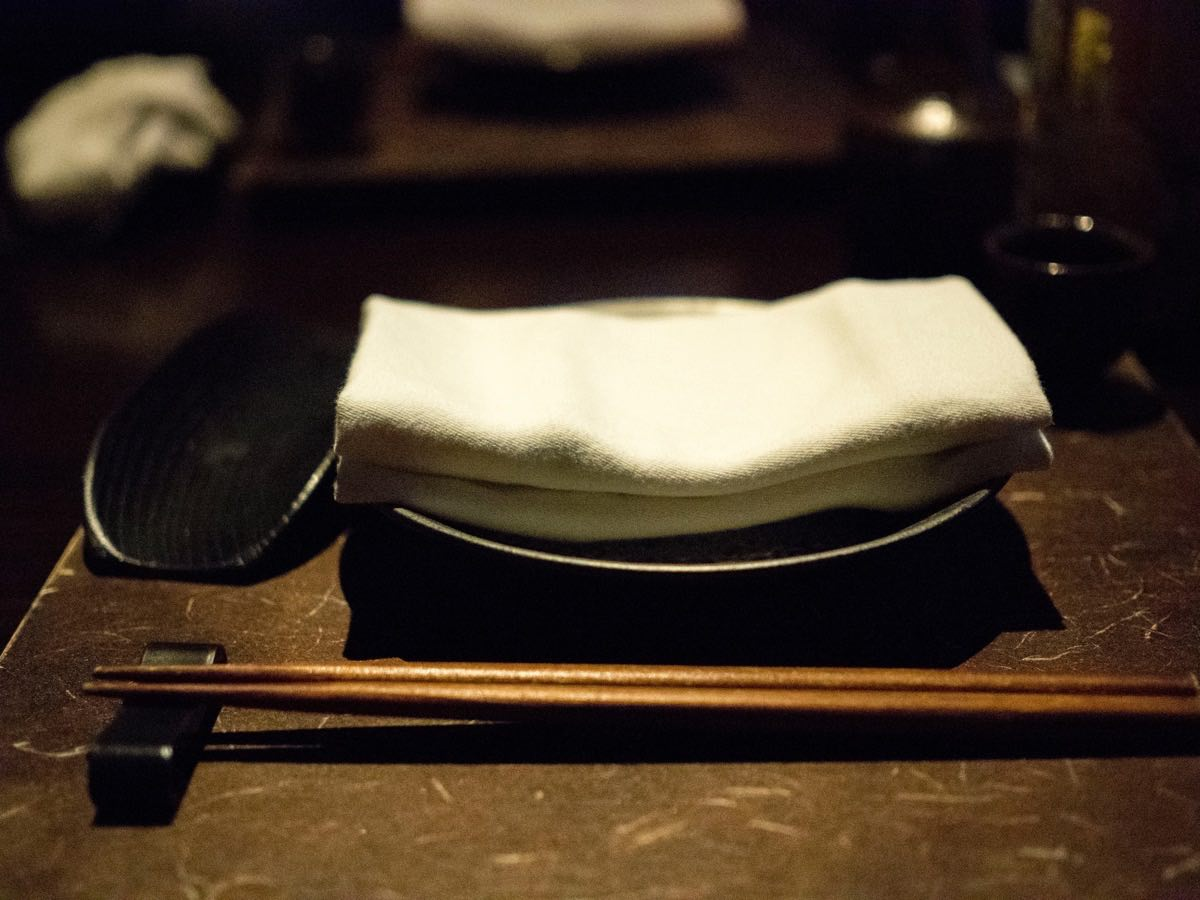Ryu Cuisine de Japon Table Setting