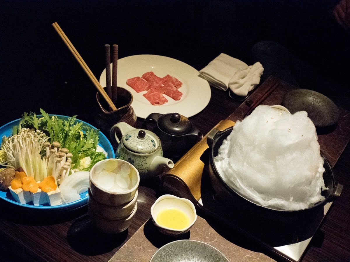Waitress! I have a cloud in my sukiyaki.