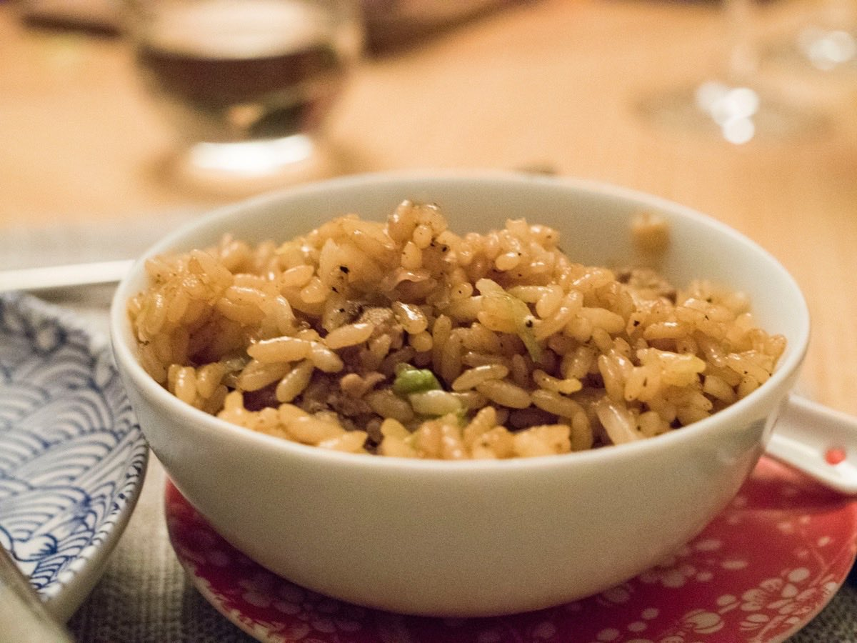 Very nice fusion-ised fried rice