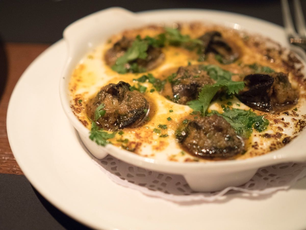 Red Curry Escargots