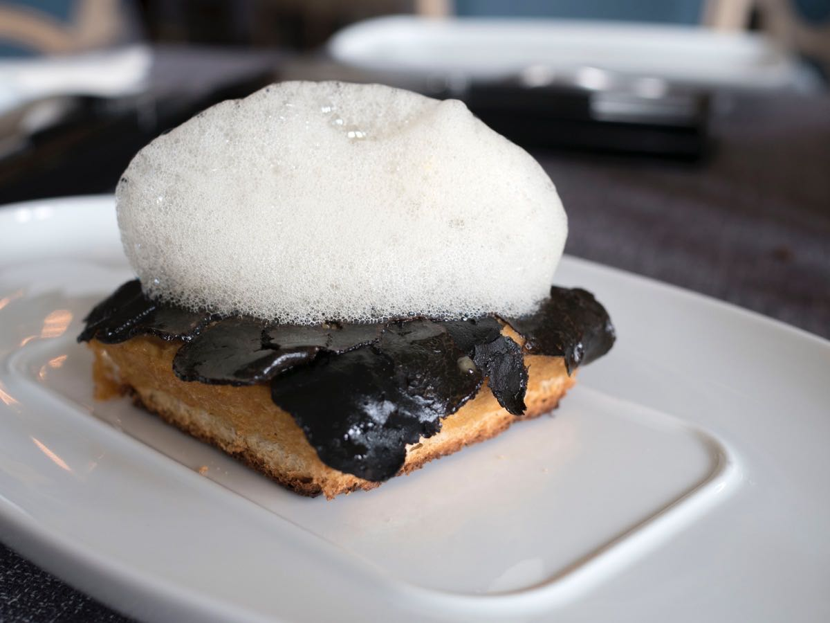 Can I have some truffle to go with that foam?