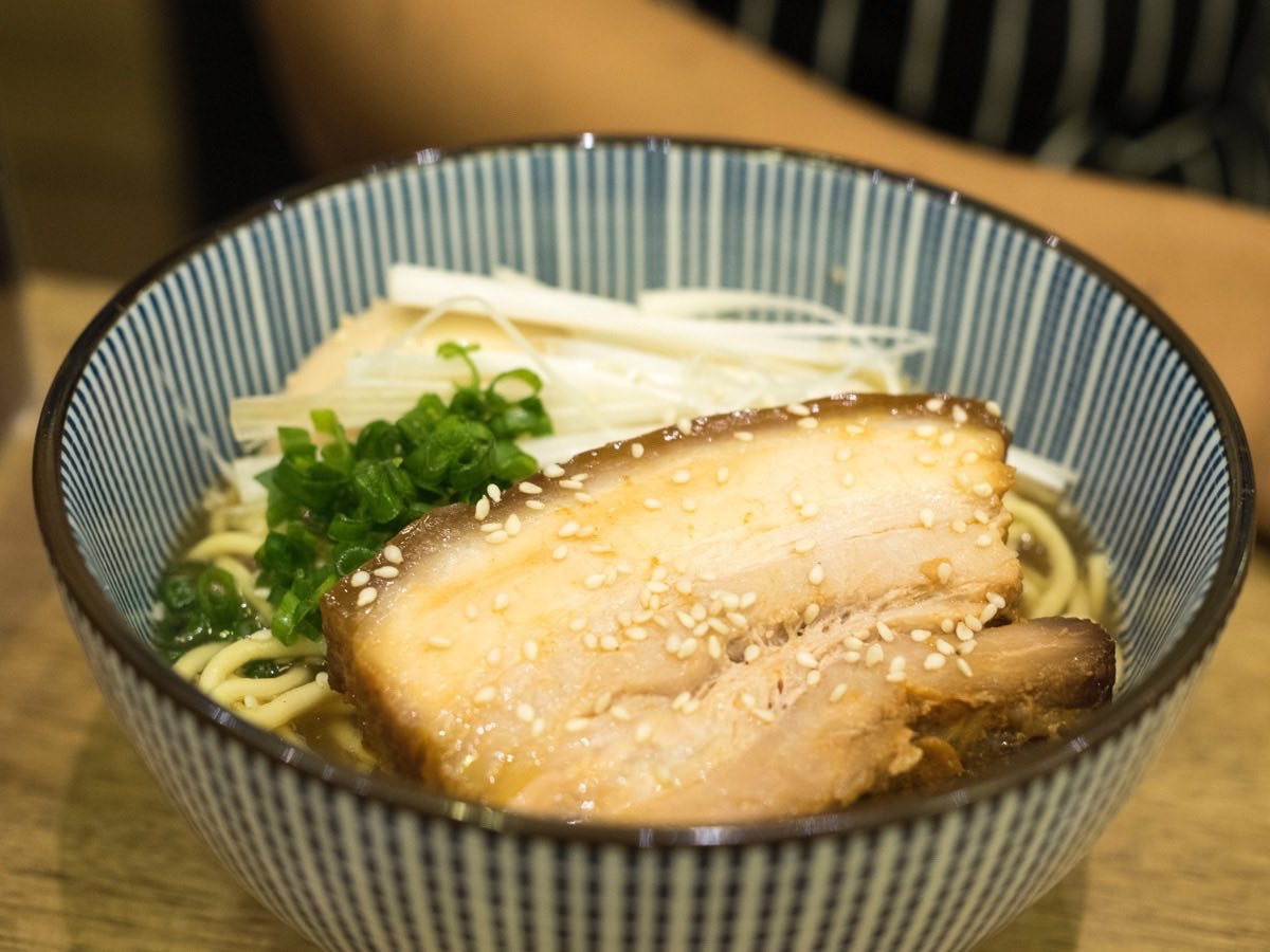 Featuring a huge slab of Chashu Pork Belly