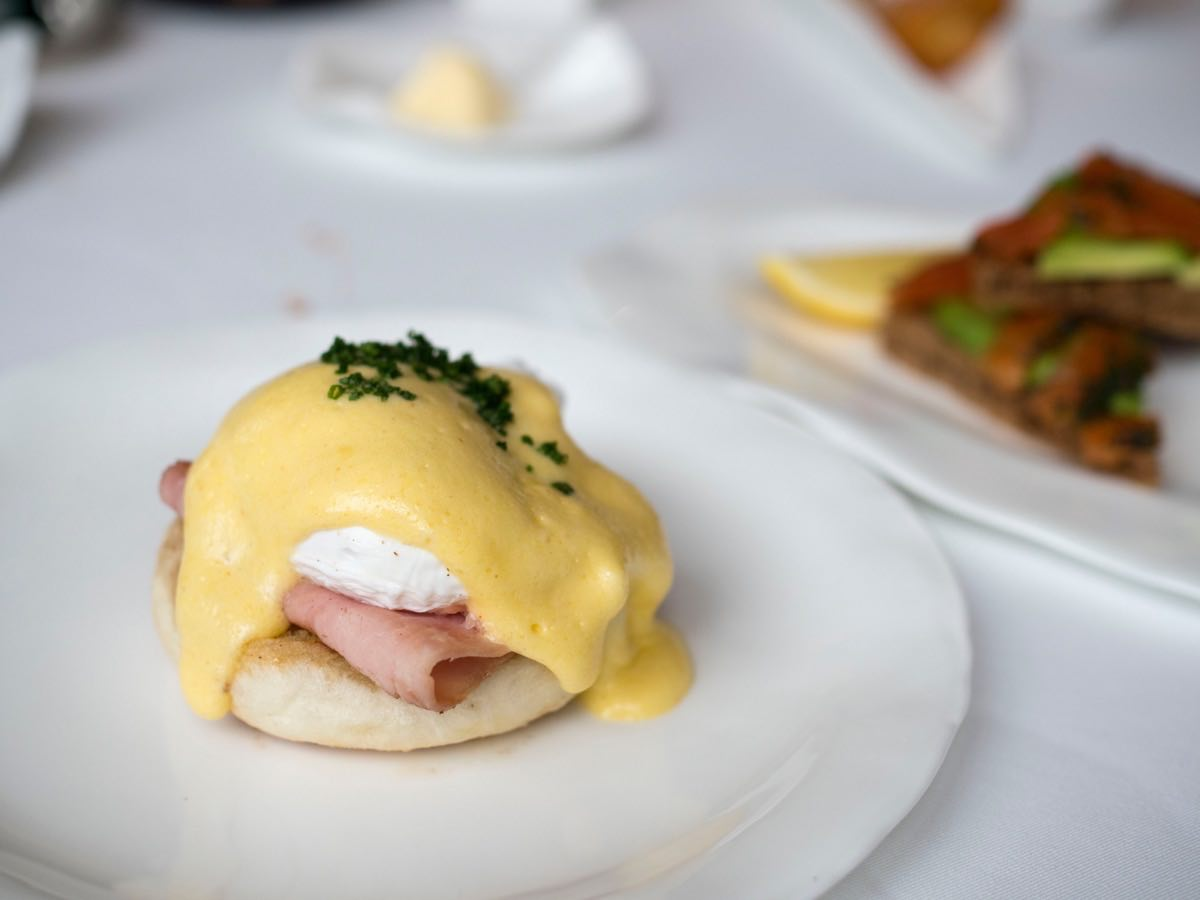 Behold, the Egg Benedict!