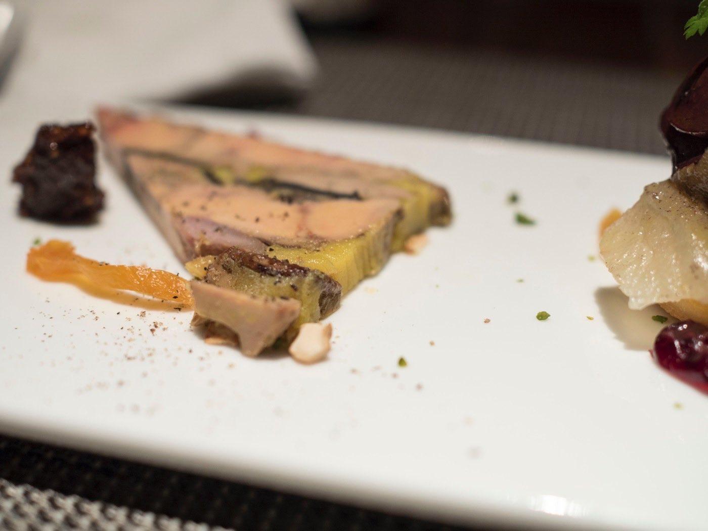 Foie Gras, Pigeon, Black Truffle