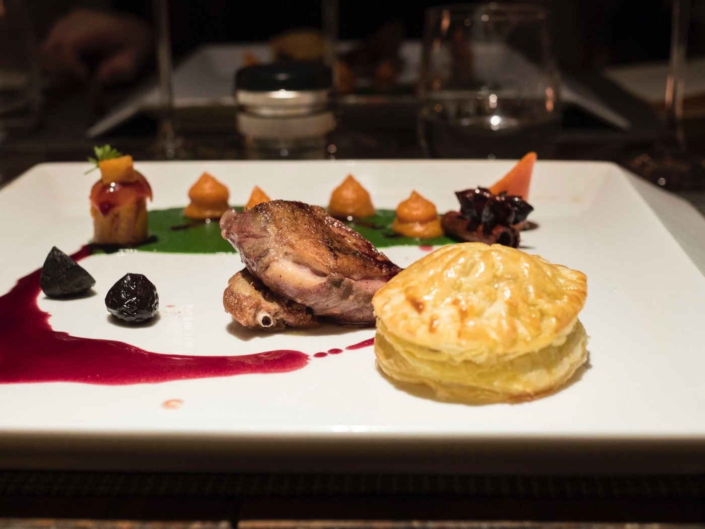 Pigeon and Pastry