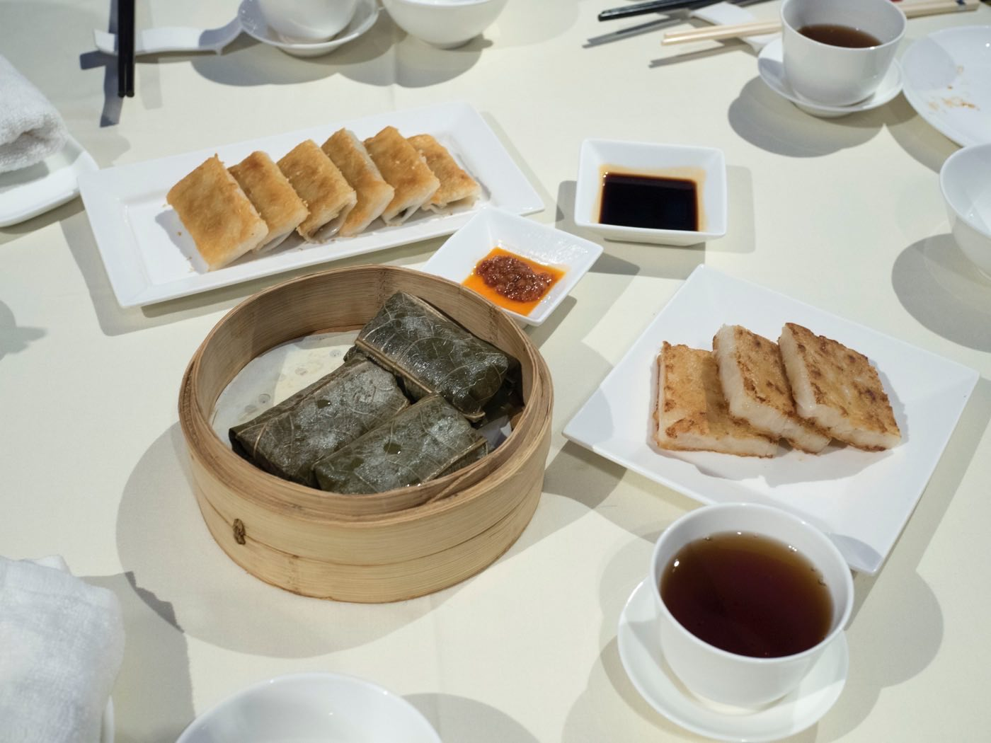 debunking the michelin guide dim sum at lei garden shanghai iapm - Lei Garden