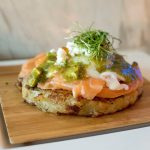 [Eating Now] Smoked Salmon on Rosti at Liquid Laundry, Shanghai