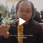 VLOG#3 Best Sesame Noodles in Shanghai, Fix Cafe and Raclette Party
