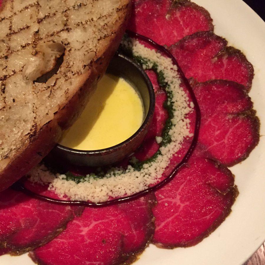 Husk restaurant shanghai beef carpaccio